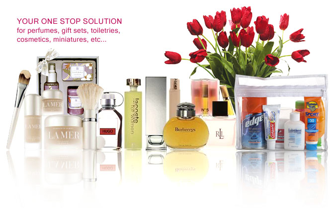 Your one stop solution for perfumes, gift sets, toiletries, miniatures, cosmetics, etc...